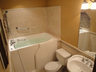 Independent Home Products, LLC installs hydrotherapy walk in tubs in Addison